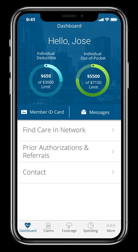 Aplicación Blue Access for Members (BAM)