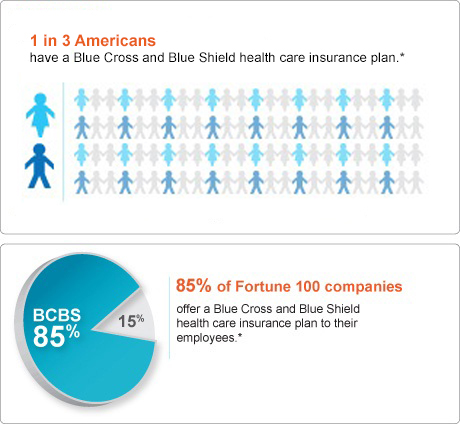 1 in 3 Americans have BCBS health insurance