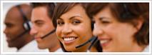 Representantes de Servicio al Cliente con auriculares
