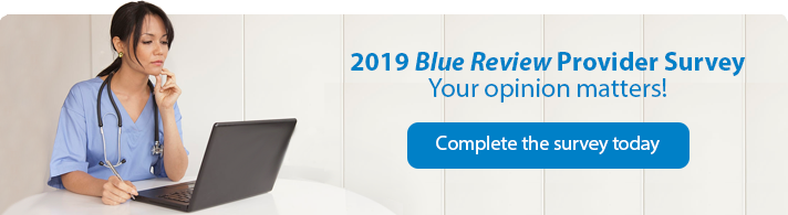 blue review provider